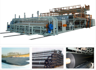 HDPE Geomembrane Extrusion Line