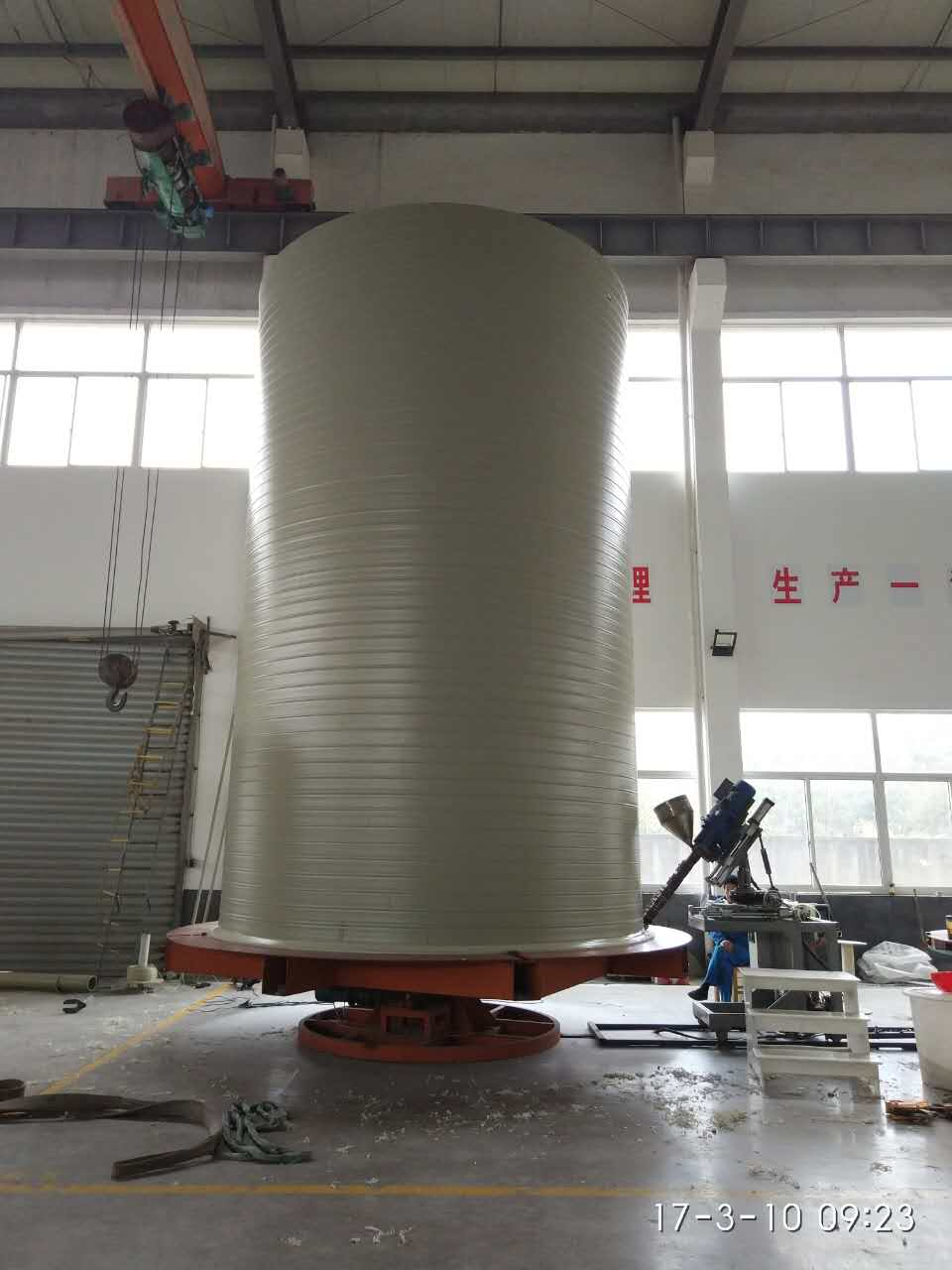 HDPE/PP Helically Wound Spiral Tanks Machine